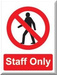 Staff Only Site